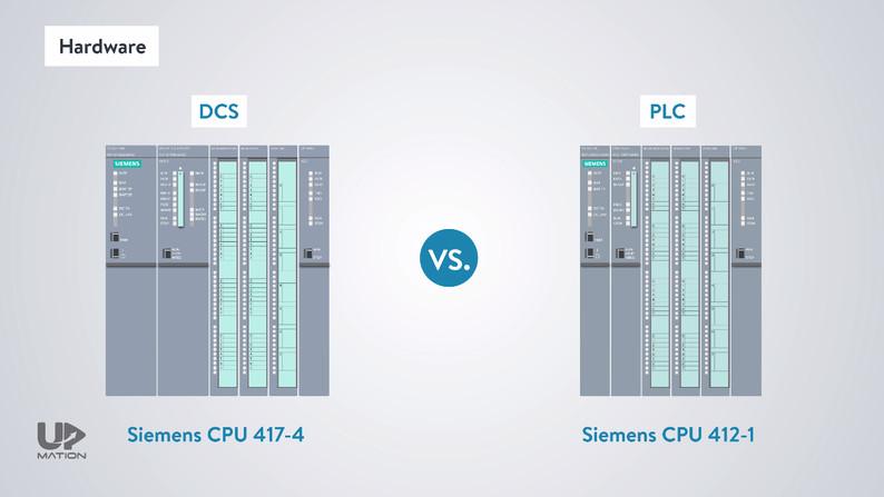 PLC vs DCS Hardware