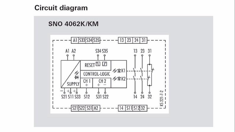 Safety Relay Circuit Diagram