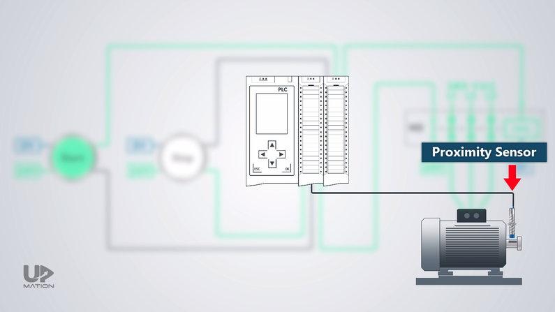 Proximity Sensor in motor rotation monitoring