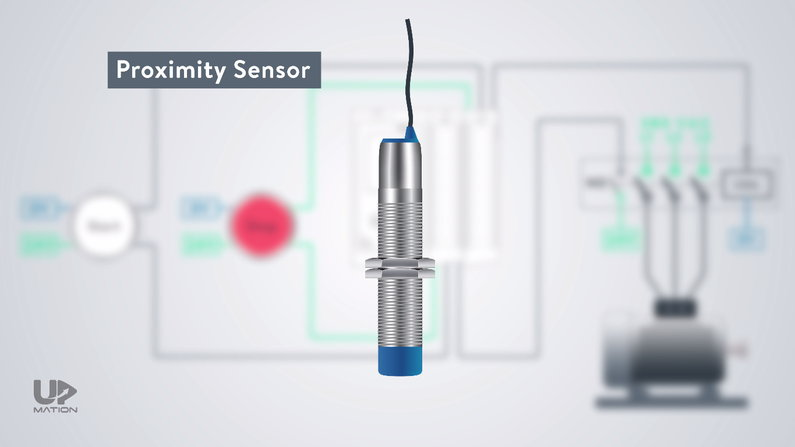 Proximity Sensor in motor rotational speed measurement
