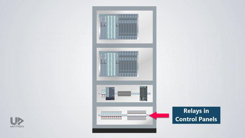 Relays in Control Systems