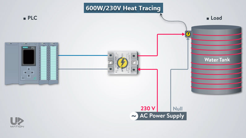 Solid state relay wiring