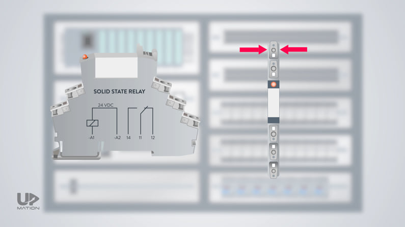 Solid state relays din rail mount
